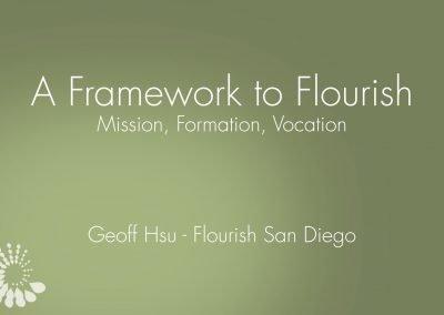 Framework To Flourish Presentation Slides – 2017-18 Launch