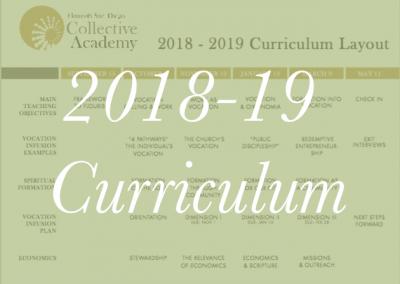 2018-19 Curriculum Layout