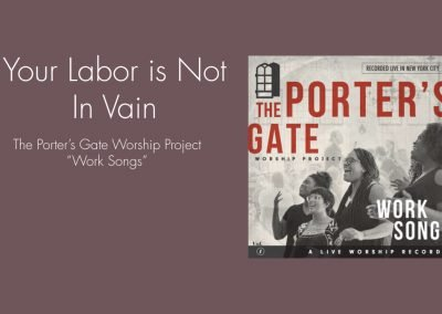 Your Labor Is Not In Vain