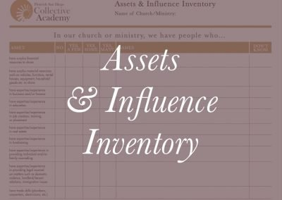 2020 Asset & Influence Inventory