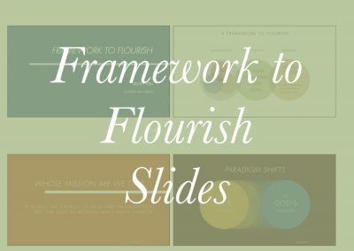 2020 Framework to Flourish