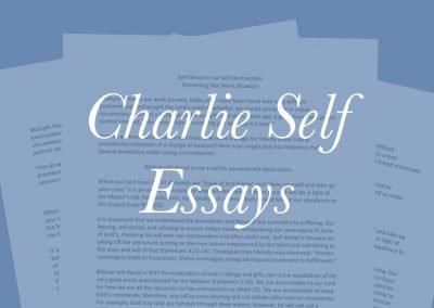 Charlie Self Essays