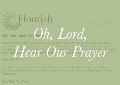 Oh, Lord, Hear Our Prayer