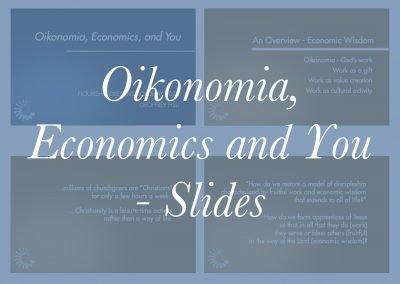 Oikonomia, Economy and You Slides – Geoff Hsu