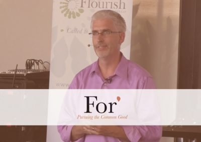 For* 2016 – Session 6: Fostering Flourishing Versus Dependency, by Brett Elder