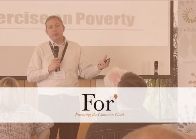 For* 2016 – Session 2: Poverty Alleviation, Freedom, and Choices, by Rob Gailey