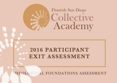 2016 Participant Exit Assessment