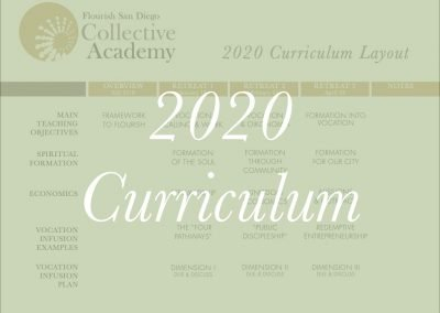 2020 Curriculum Layout