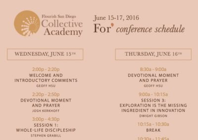 For* Conference Schedule & Maps