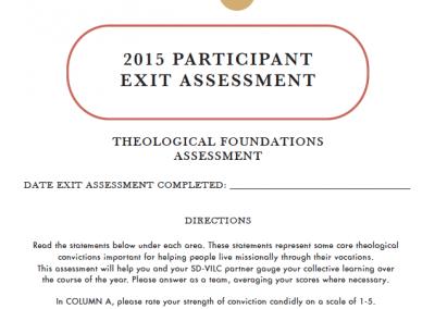 VILC Plan | Exit Assessment