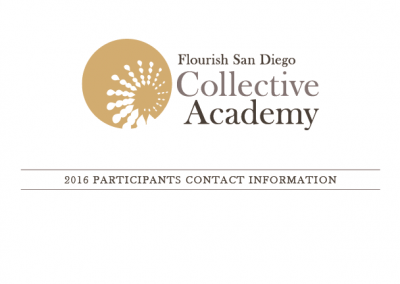2016 Collective Academy Contacts
