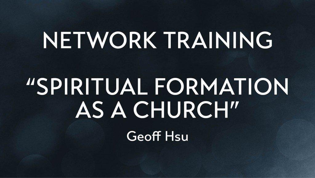 Spiritual Formation As A Church