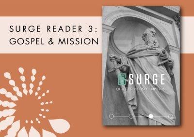 2016 Retreat 4 Resource: Surge Reader 3 – Gospel Mission