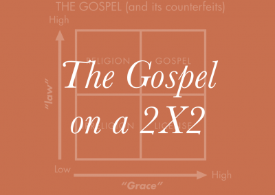 The Gospel on a 2X2 Slides