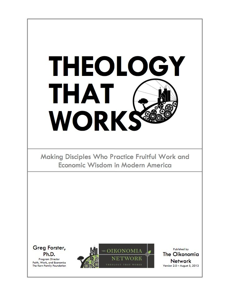 Theology that worsk