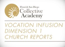 2016 Vocation Infusion Plan: Dimension 1 Church Reports
