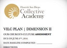 2016 Vocation Infusion Plan: Dimension 2 Assessment & Action Plan