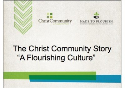 Session 2: Tom Nelson on Church Culture – Slides