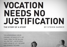 "2016 Retreat 2: ""Vocation Needs No Justification"" by Steve Garber"