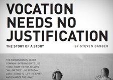 "2016 Retreat 2: ""Vocation Needs No Justification"" by Steve Garber"