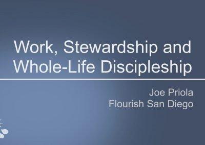 Work, Stewardship & WL Discipleship Slides