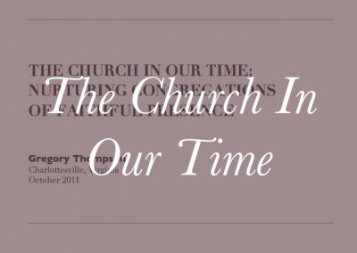 The Church In Our Time – 2020