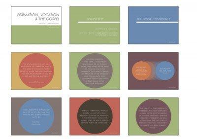 Formation, Vocation, & The Gospel – Slides