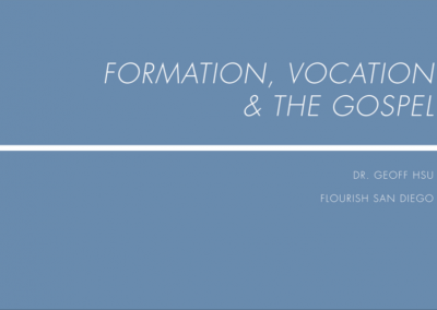 Formation, Vocation and The Gospel – 2018-19 Retreat 1