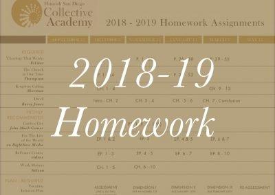 2018-19 Homework Assignments