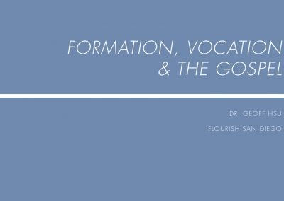 Formation Vocation and Gospel Slides – Retreat One 2017-2018