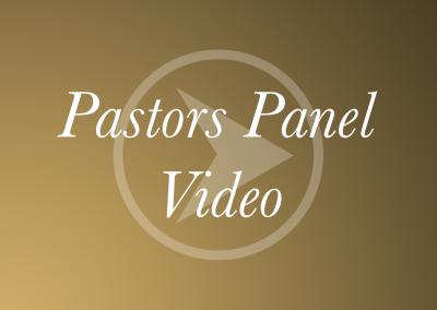 Pastors Panel – Video