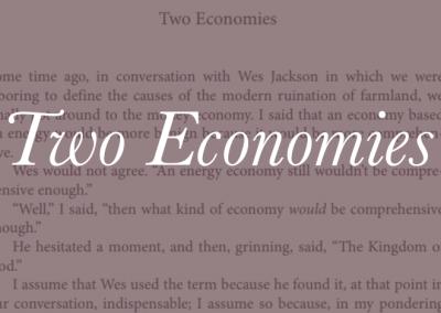 Two Economies